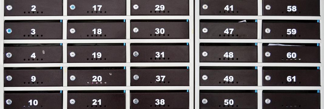 Cutii postale pentru bloc - modele, diferente, avantaje